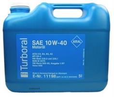 Масло моторное минеральное Turboral 10W-40, 5л